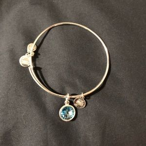 Pisces birthstone Alex & Ani bangle